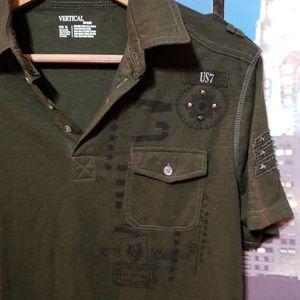 Vertical sport Shirts - Vertical Sport mens  Polo top